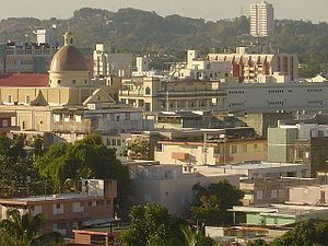 Mayagüez: Mayaguez Center view
