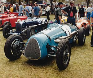 1953 Australian Grand Prix - The Maybach Special Mk.1, in which Stan Jones set fastest lap of the race, pictured in 2000