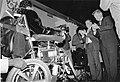 """Mayor Raymond L. Flynn and Sen. Edward M. """"Ted"""" Kennedy welcoming Darryl Stingley in Faneuil Hall (10086134355).jpg"""