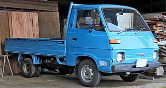 Mazda Bongo - Second generation Mazda Bongo (pre-facelift)