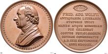 Medaille Friedrich August Wolf 1840 (Quelle: Wikimedia)