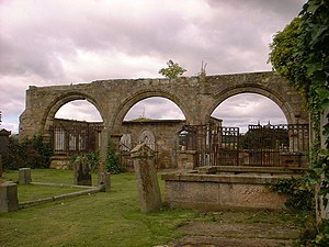 Kilconquhar - Image: Medieval Arcade at Kilconquhar Church geograph.org.uk 296710
