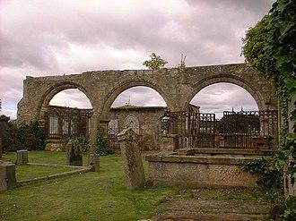 Kilconquhar - Image: Medieval Arcade at Kilconquhar Church geograph.org.uk 296710