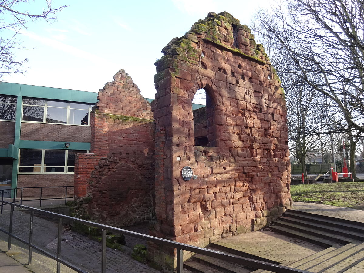 Mediaeval stone building coventry wikipedia for The coventry