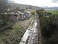 Meikle Ferry railway station (site), Highland (geograph 4418446).jpg
