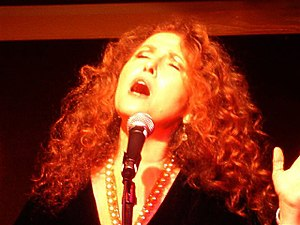 Melissa Manchester - Manchester in concert on October 28, 2009 in Annapolis, Maryland