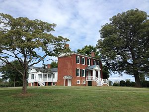 National Register of Historic Places listings in Fluvanna County, Virginia - Image: Melrose, Fluvanna County