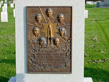 English: Memorial of the Space Shuttle Challenger