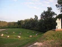 Memoriale al Parco San Colombano di Riva di Suzzara