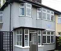 Mendips; George and Mimi Smith's home, where Lennon lived for most of his childhood and adolescence.
