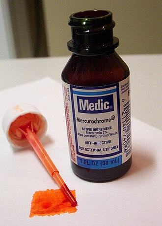 Merbromin - Image: Merbromin Anti Infective