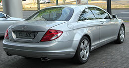 Mercedes CL 500 (C216) rear 20100710.jpg