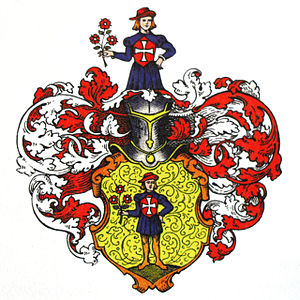 Merck family - Coat of arms of the Darmstadt branch of the Merck family