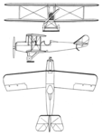 Mercury Standard 6W-3 3-view Les Ailes February 18,1926.png