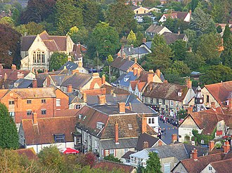 Mere, Wiltshire - Image: Mere geograph.org.uk 975588