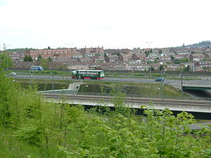 Strood - High Speed 1 and the M2 form the southwestern boundary of Strood.