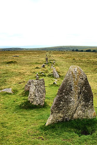 Merrivale, Devon - Merrivale stone rows
