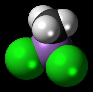 Methyldichloroarsine chemical compound