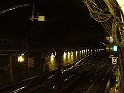 Metro Paris - Ligne 1 - Les Sablons (13)
