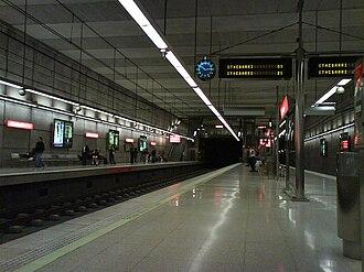San Ignazio (Metro Bilbao) - Station's platforms