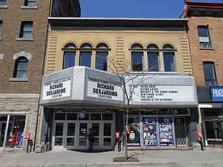 M Telus (concert hall) music venue and former cinema in Montreal, Quebec, Canada