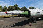 MiG-21PF Fishbeds, Czech Air Force Museum, Prague-Kbely Airbase (28563062204).jpg