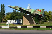 MiG-23 on display in Tokmok (3968850428)