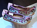 Miao female shoes - Yunnan Provincial Museum - DSC02145.JPG