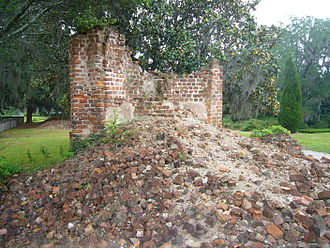 Middleton Place - Ruins of the main house