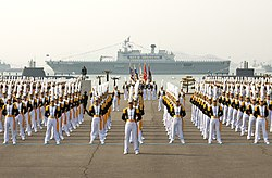 Midshipmen at the ROK Naval Academy graduation..jpg