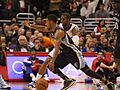 Mike Conley driving past Chris Paul 20131118 Clippers v Grizzles.jpg