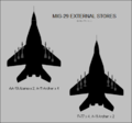 Mikoyan MiG-29 silhouettes showing external stores configurations.png