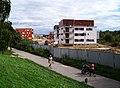 Milíčovský Háj, výstavba, od západu.jpg