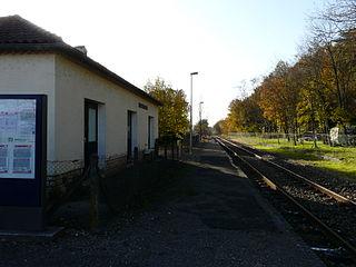 Milhac-dAuberoche station