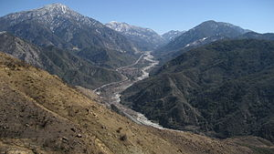 San Bernardino Mountains - The Mill Creek valley was the first area of the mountains to be logged.