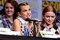 Millie Bobby Brown & Sadie Sink (36046777612).jpg