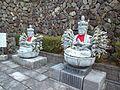 Minamihokke-ji Temple - Stone statues of Thousand Armed Avalokiteshwara.jpg