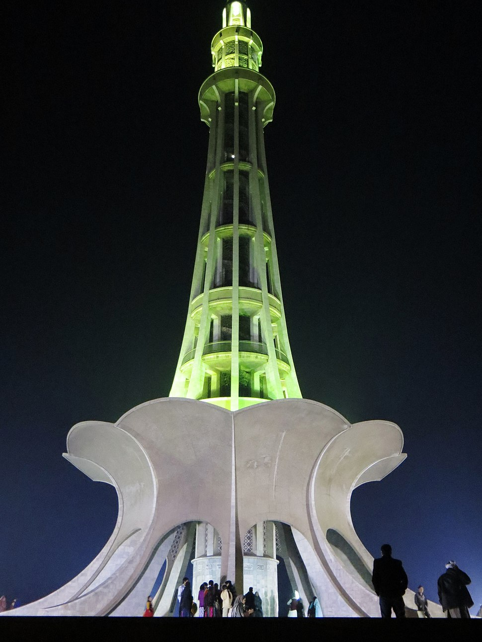 Minar-E-Pakistan in all its%27 splendour