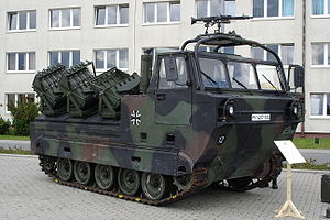Dynamit Nobel - The Minenwurfsystem Skorpion.