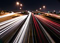 Mini Stack Interchange of Interstate 10 - Loop 202 - State Route 51- at Night.2010.jpg