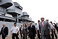 Ministros de Defensa de Perú y Ecuador, visitan las instalaciones del SIMA-Callao (8511346612).jpg