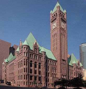 Minneapolis City Hall - Image: Minneapolis City Hall 2013