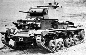 Middle East Command - The Mk I (A9) Cruiser Tank used by the British 7th Armoured Division