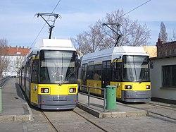 BVG-Straßenbahn