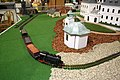 Model of steam train from Boheminium Park at Regiontour 2010.jpg