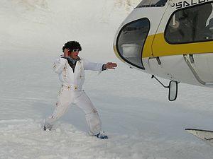 Tommy Moe - Moe in Alaska in June 2006