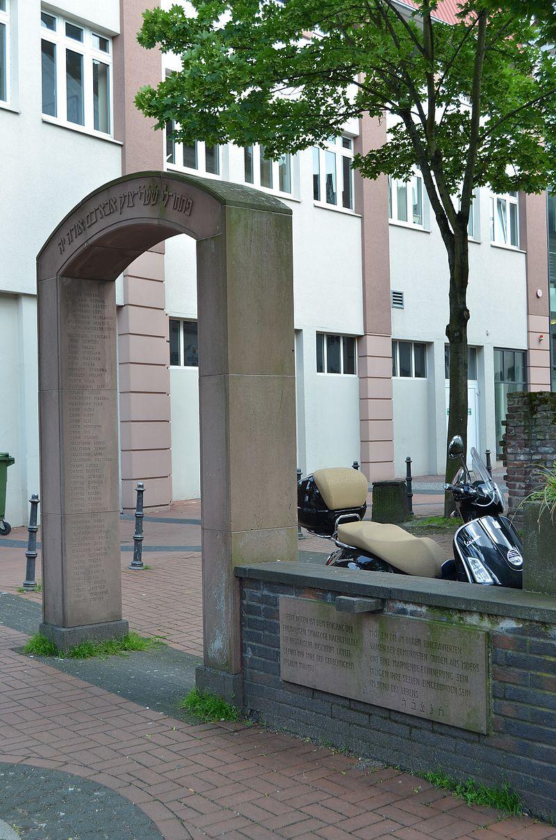 Moers, Synagogenbogen, 2013-05 CN-01.jpg
