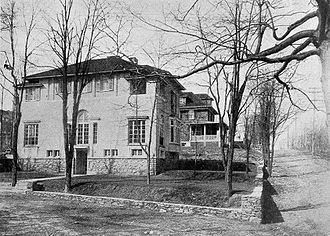 "Yonkers, New York - ""Typical homes of New York business men"" in the Colonial Heights neighborhood of Yonkers, 1911."