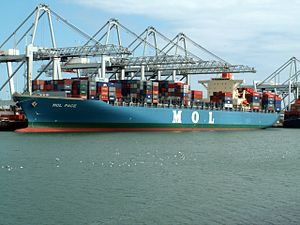 Mol Pace, at the Amazone harbour, Port of Rotterdam, Holland 17-Apr-2006.jpg