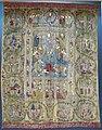 Moldavia, tenda da iconostasi con la trasfigurazione i donatori principi alexandru lapusneanu e rusandra, 1561, 01.JPG
